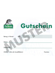 Gutschein  FGM's  CHF 20.00